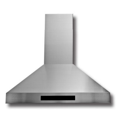 "ProLine Range Hoods 36"" 1800 CFM Ducted Wall Mount Range Hood 
