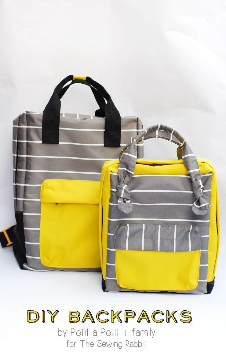 DIY Mini Backpack Sewing Video | Diy backpack, Backpacks and ...