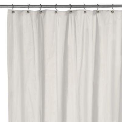 White Extra Long Shower Curtain | Sevenstonesinc.com