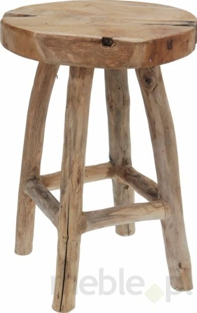 Stołek Drewno Tekowe M3 Meble Sypialnia Pinterest