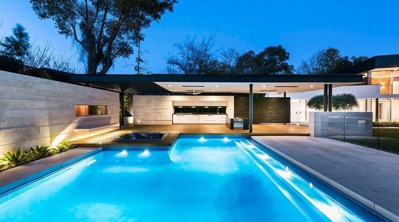 Casas con piscina with casas con piscina beautiful casas - Casas modernas con piscina ...