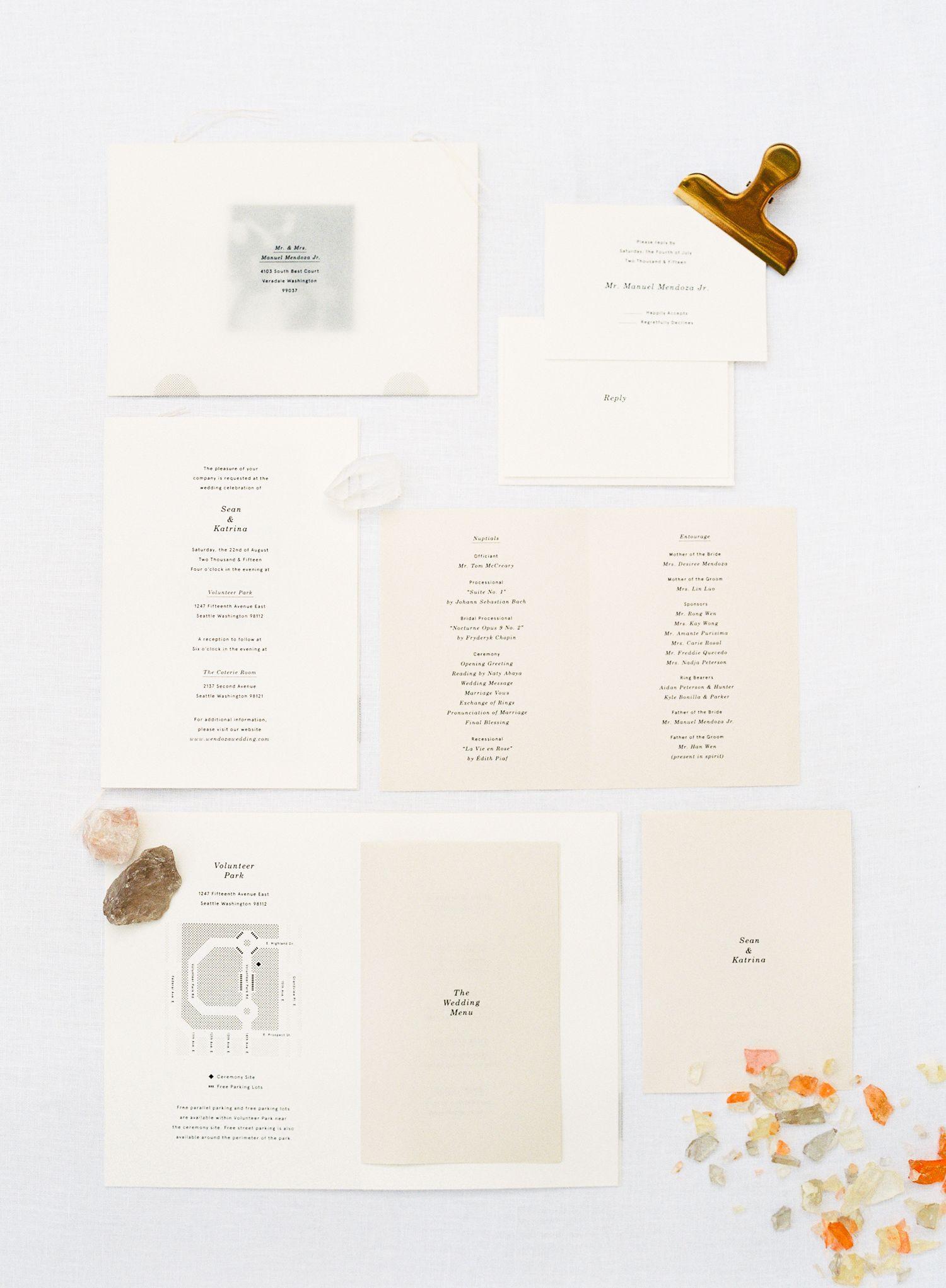 Modern Seattle Volunteer Park Conservatory Wedding by OMalley ...
