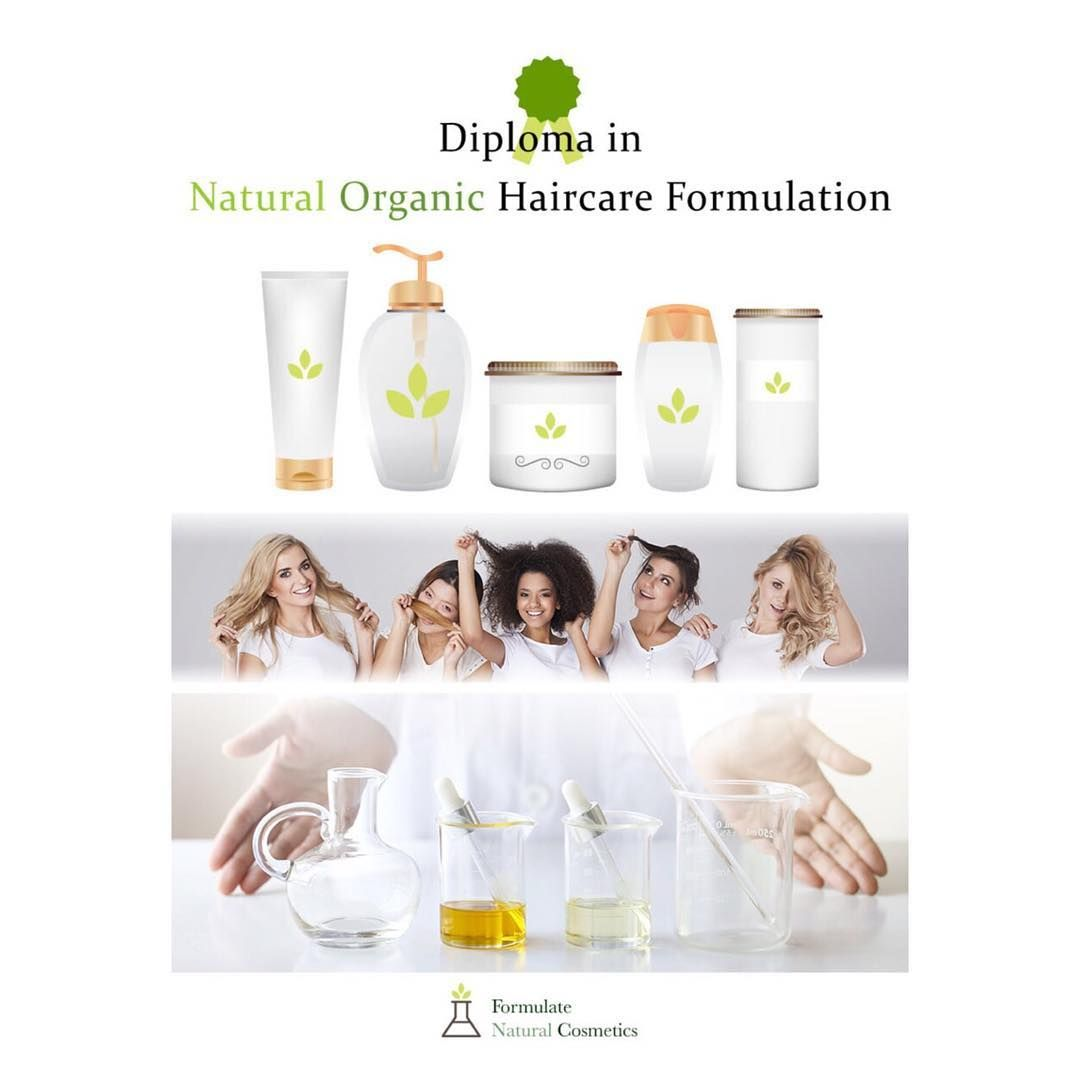 New Online Diploma In Natural Organic Haircare Formulation Learn