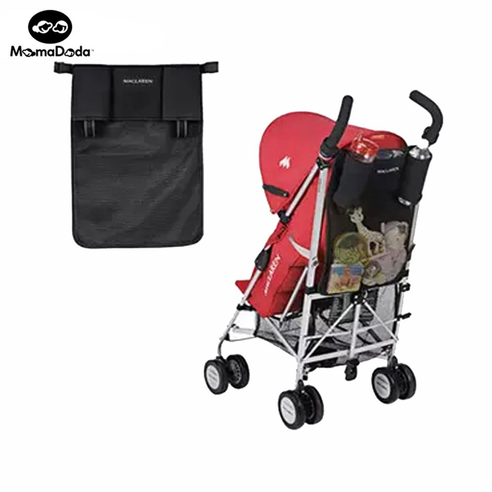 Baby Maclaren Black Stroller Cup Bag Organizer Rear Bag Rear Hanging Bags Baby Carriage Pram Buggy Bags Stroller Accessories