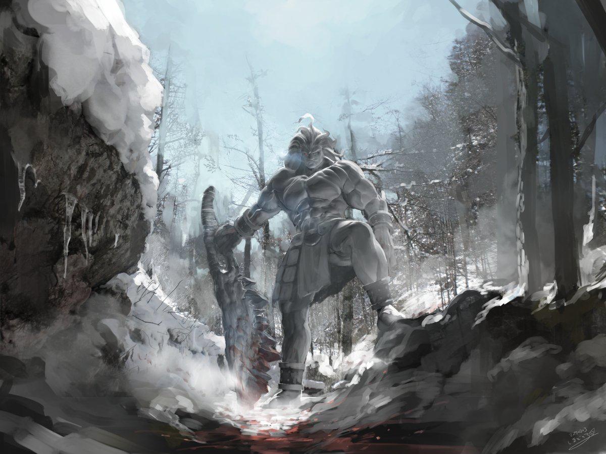 Heracles Berserker Fgo Fate Archer Fate Stay Night Art Wallpaper