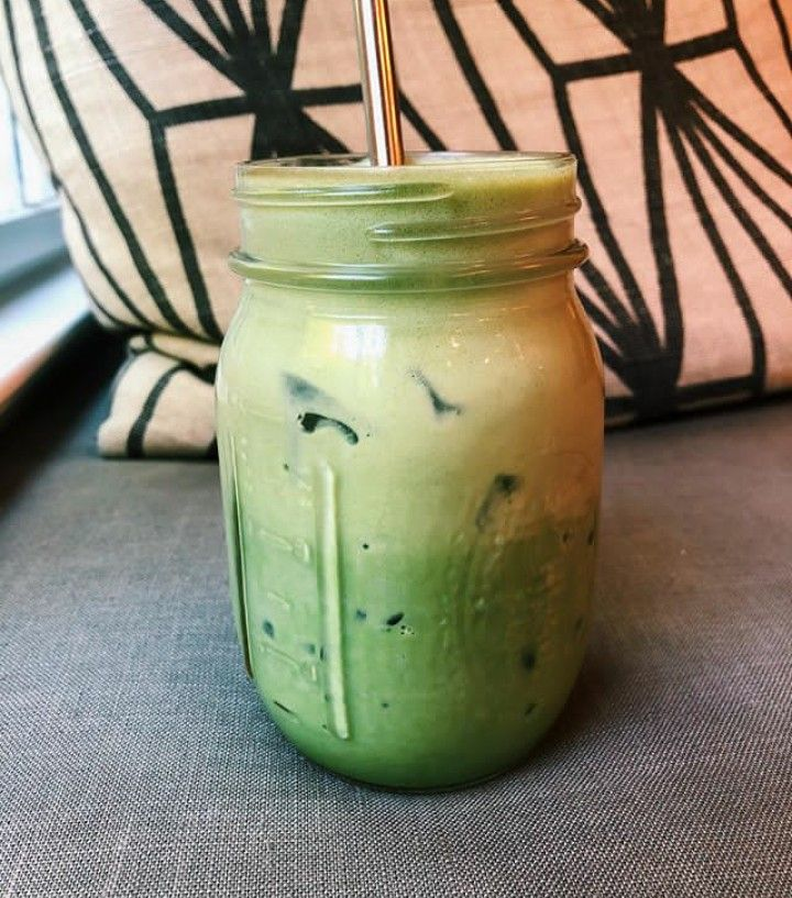 Iced Matcha Latte | Healthy Beverages | Recipes |
