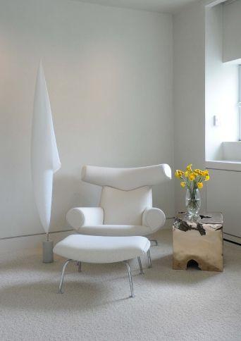 Wegner Ox Chair.  Room by Tori Golub