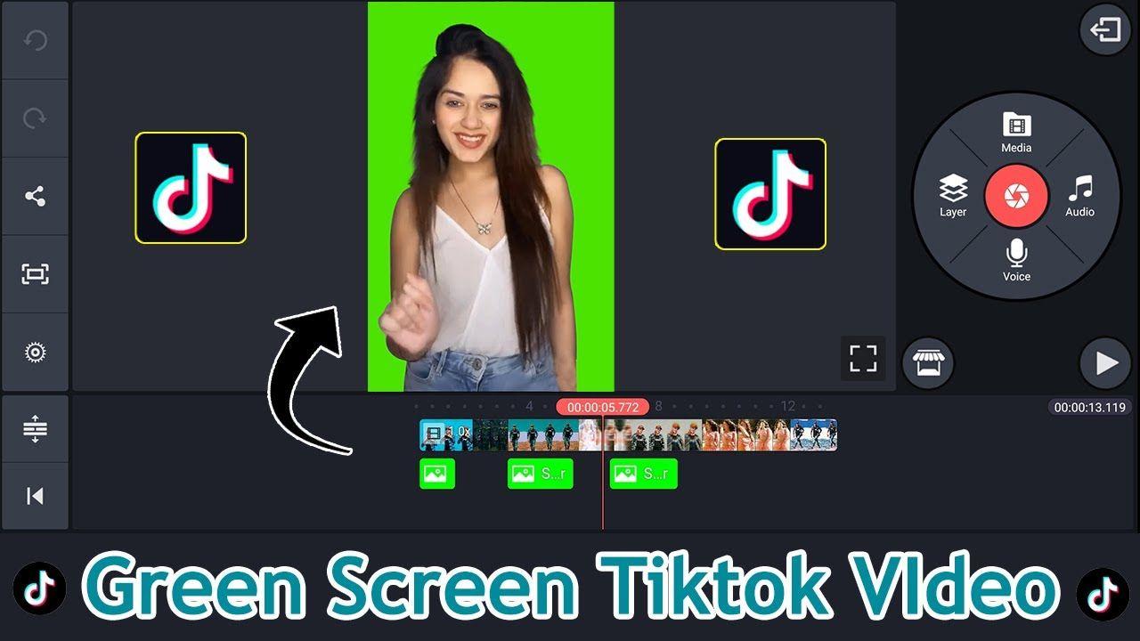 Green Screen Tiktok Video Kaise Banaye Tiktok Green Screen Video Editi Video S Youtube