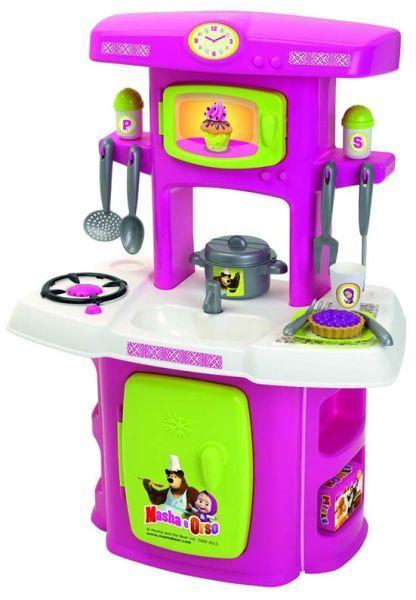 cucina giocattolo di masha e orso   Giocattoli per bambini ...