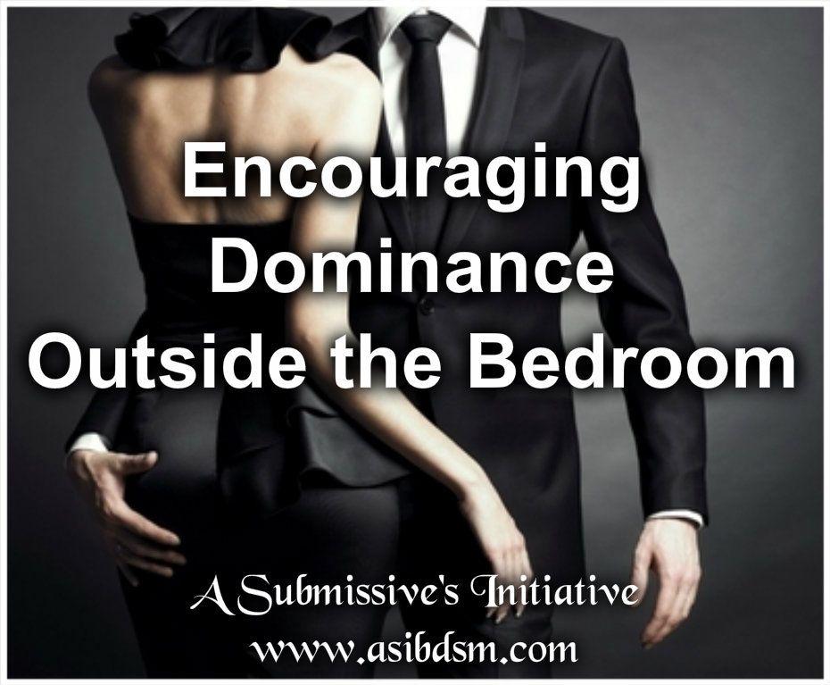 Dominance in the bedroom