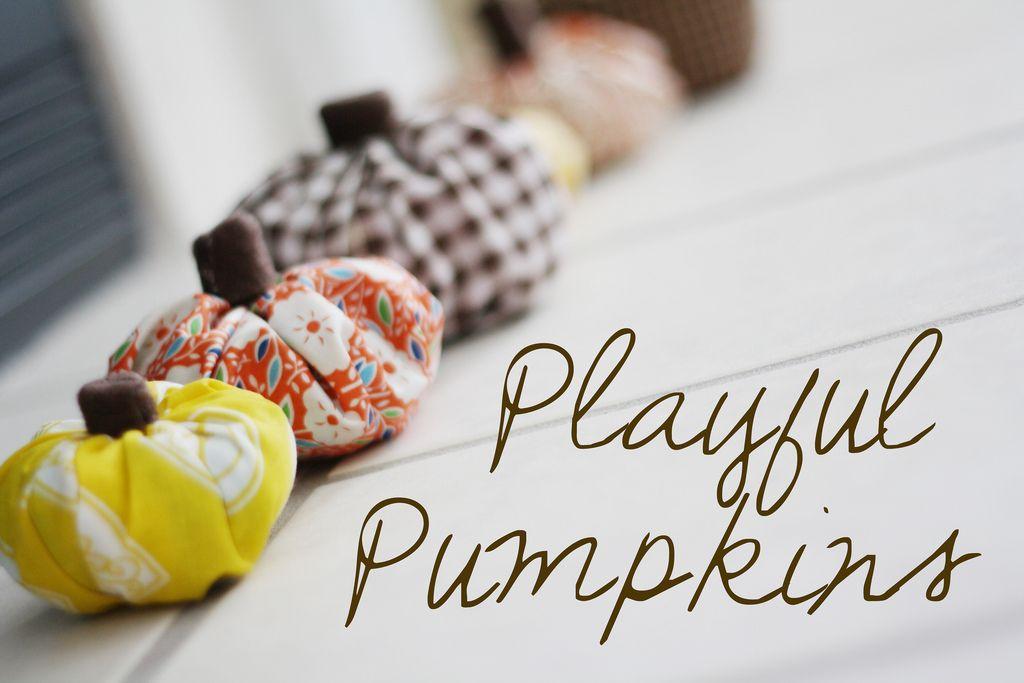 playful pumpkins tutorial on Happy together blog