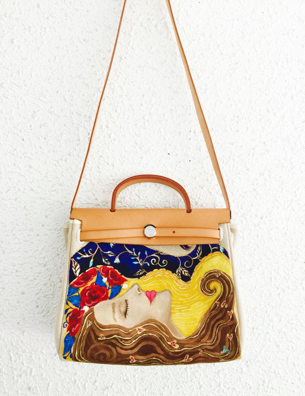 c66f9cbb08 Hand painted Hermes bag | shoes and bags | Bags, Painted bags, Art bag