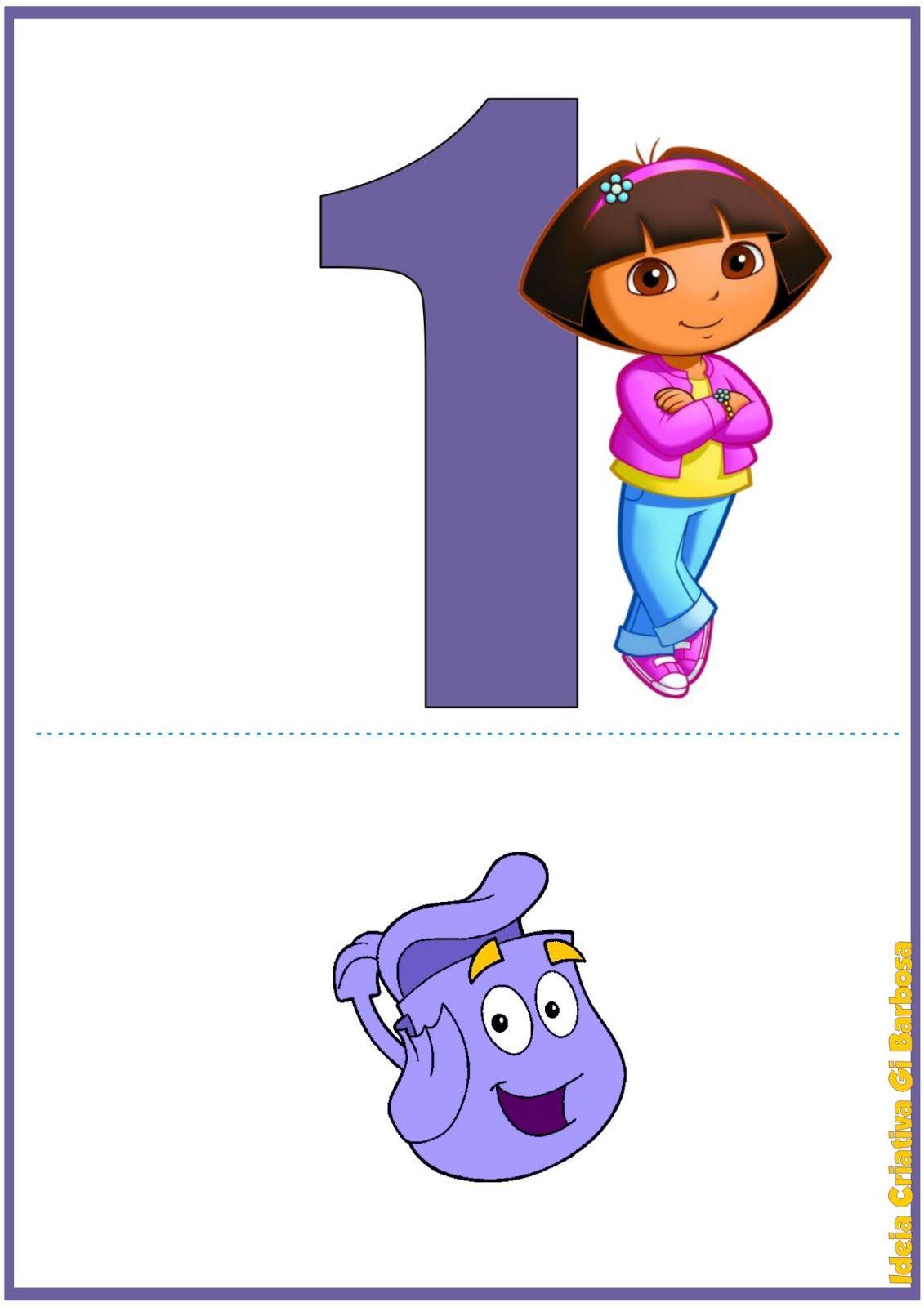 Numerais De Parede Dora Aventureira 1 Jpg 1131 1600 Dora And Friends Dora The Explorer Preschool Diploma [ 1600 x 1131 Pixel ]