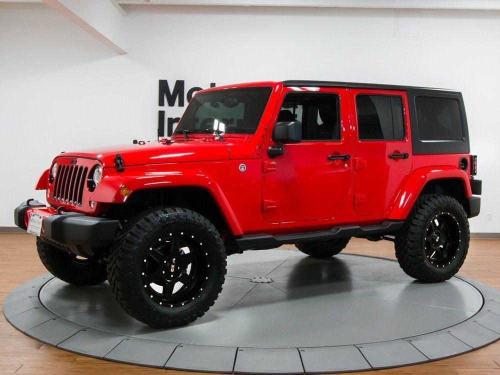 Ebay 2017 Jeep Wrangler Unlimited Sahara 2017 Jeep Wrangler