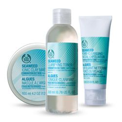 Seaweed Skin Care Products - The body shop, Shampoo bottle ...