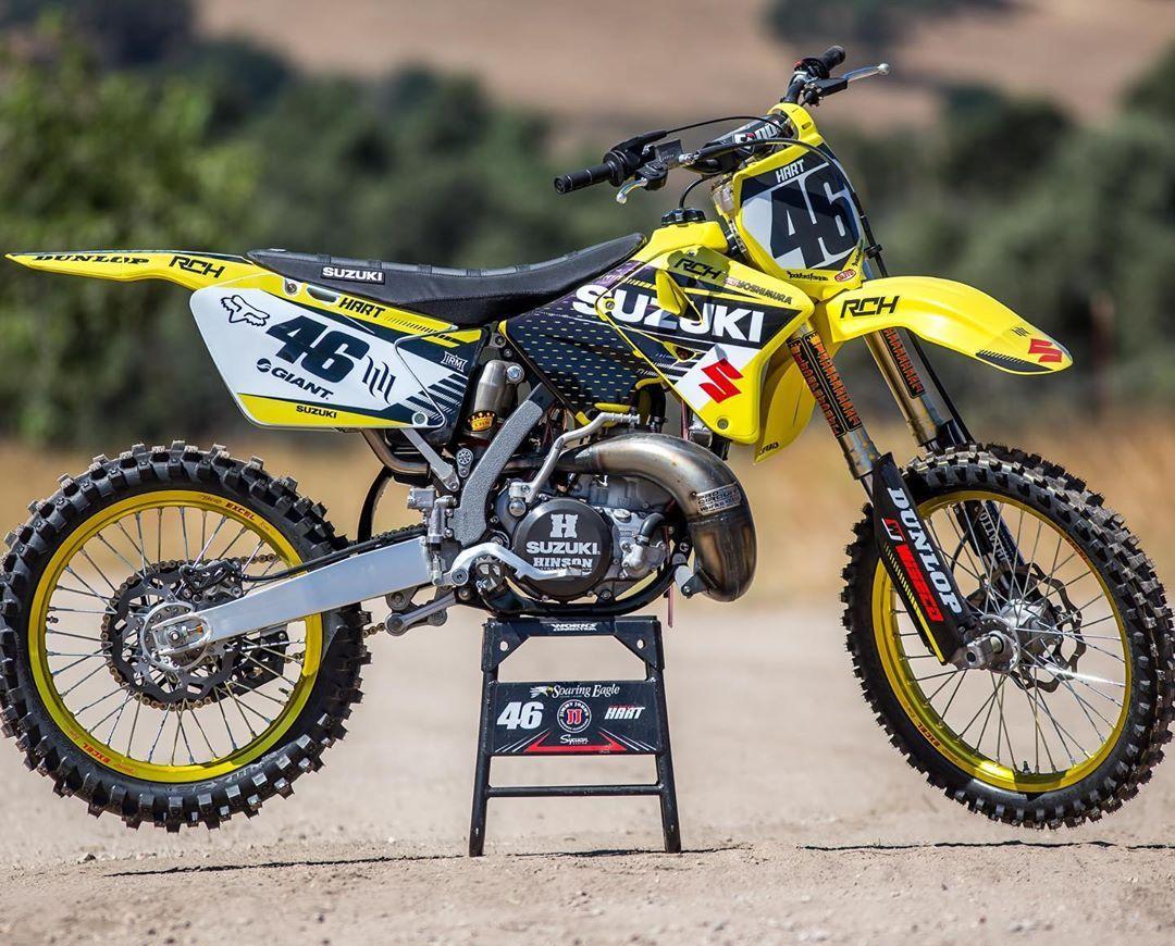 Hartluck Suzuki Rm250 2stroke Project Photo Tfant612 Motocross Motocrossaction Magazine Par Suzuki Dirt Bikes Motocross Action Suzuki Motocross