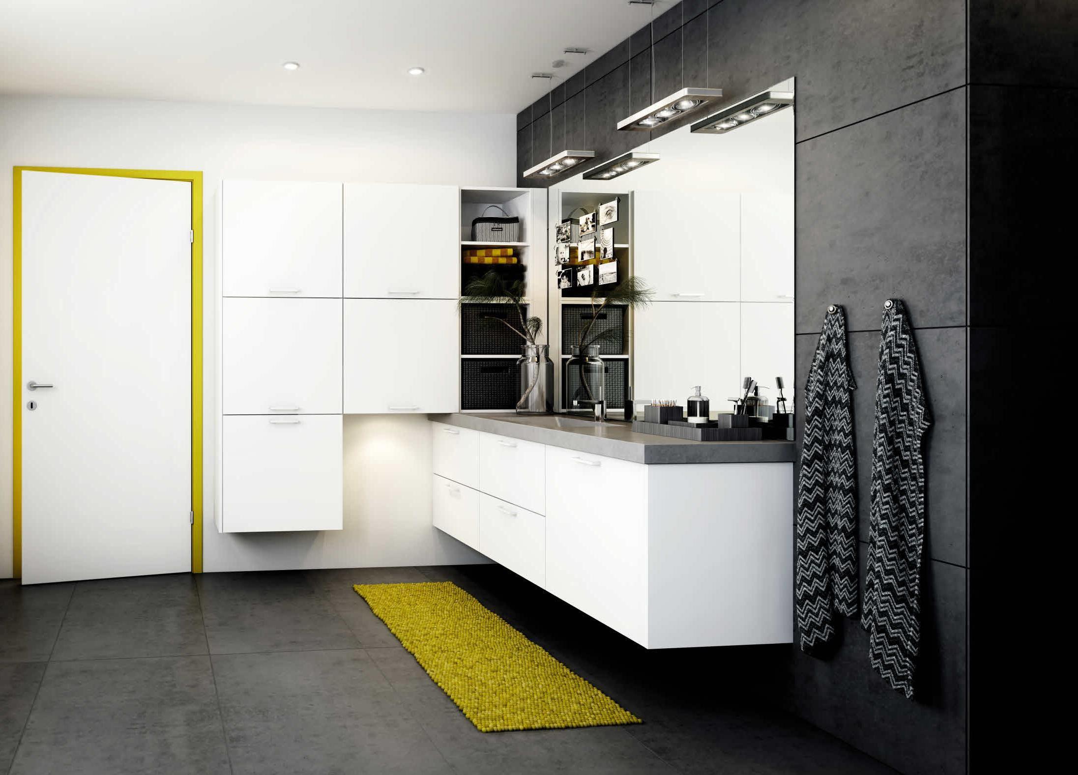Exotic Modern Bathroom Decoration Ideas With Black White