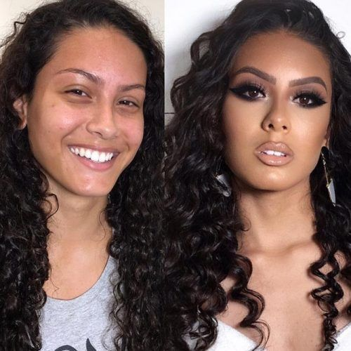 24 Increíbles transformaciones de maquillaje antes y después