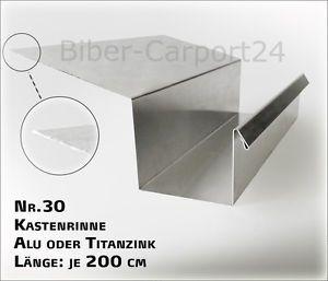 Kastendachrinne balkon  Kastenrinne-30-Alu-Profil-Blech-Regenrinne-Kasten-Rinne-Aluminium ...