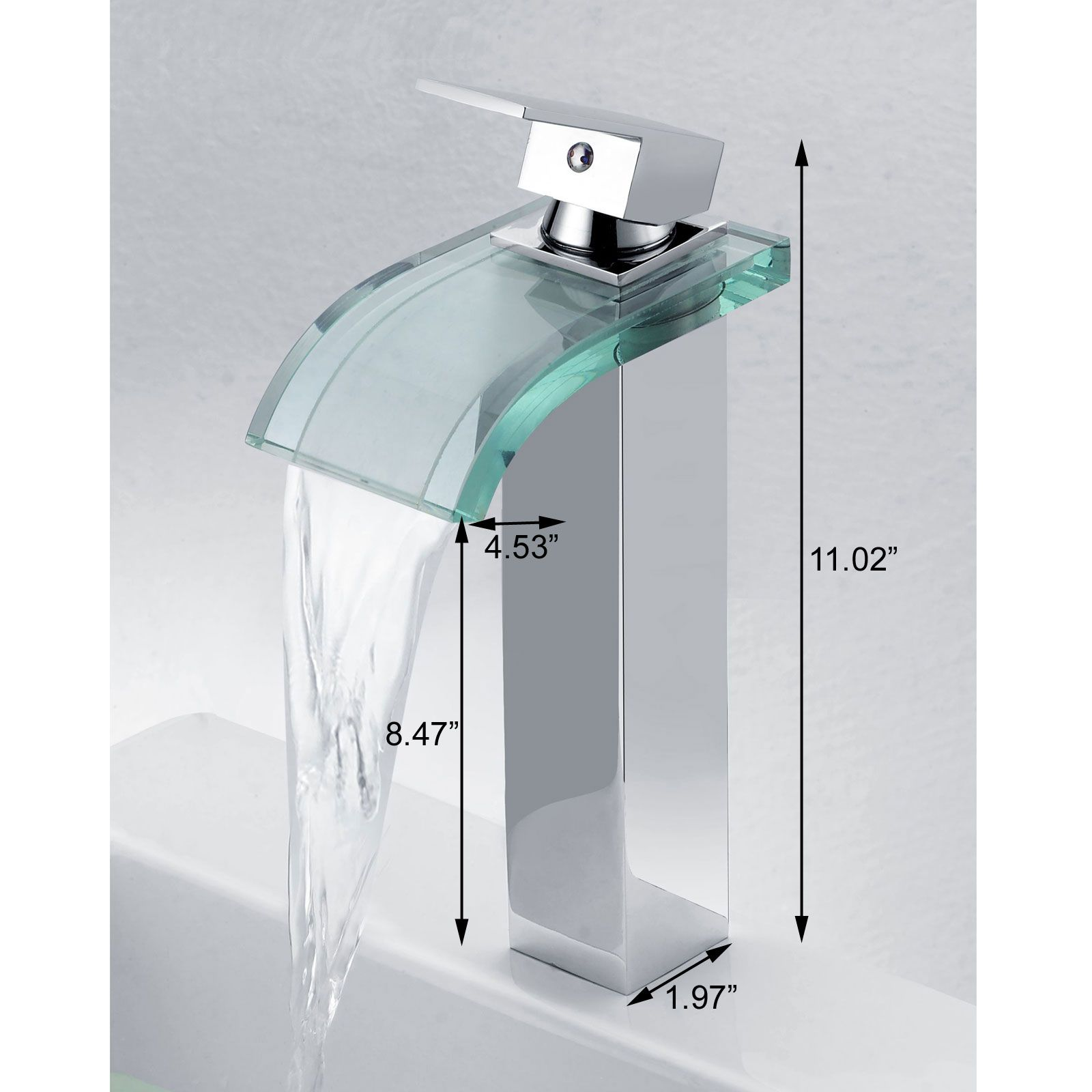 Bathroom: Best Cold And Hot Water Mixer Tap Single Handle Hole ...
