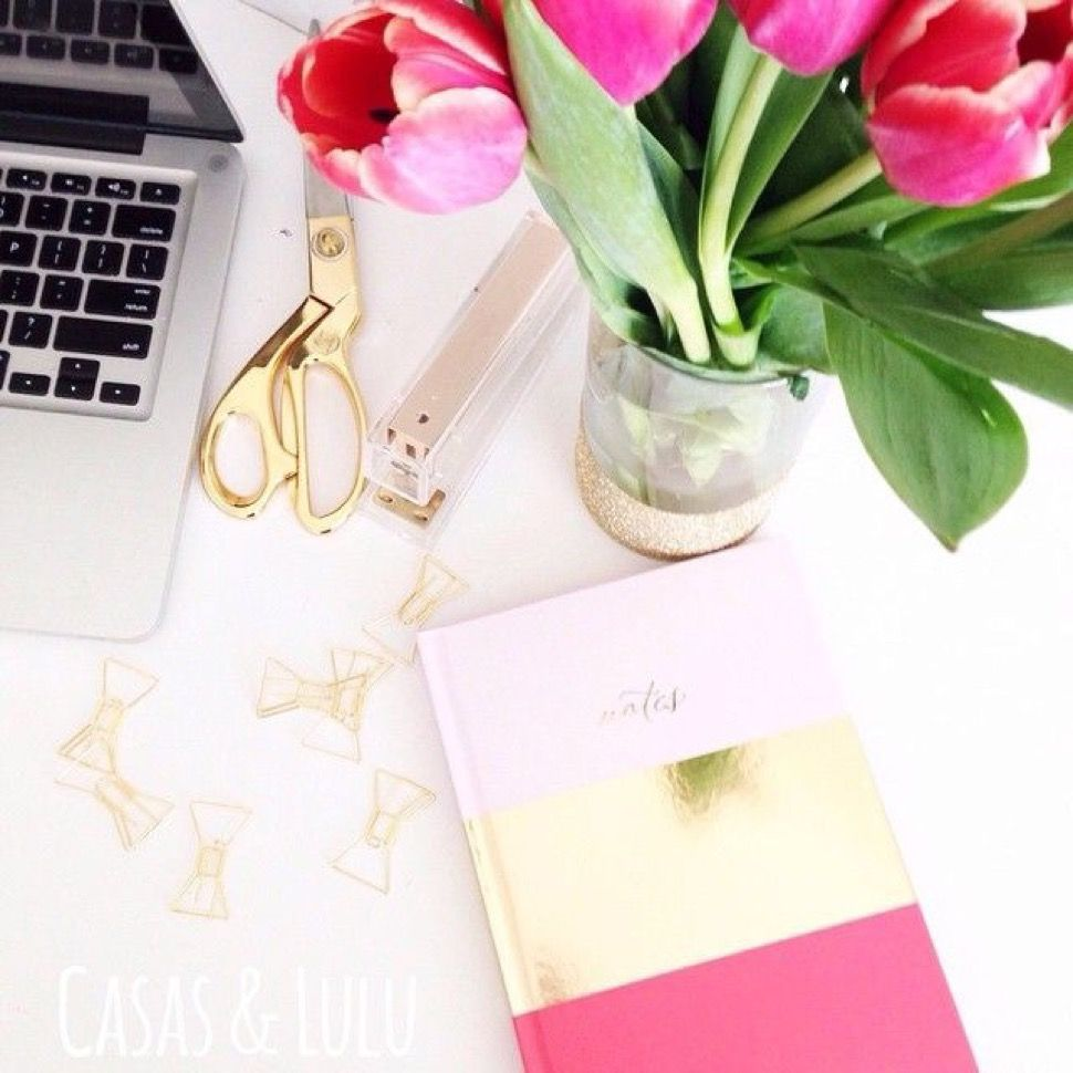 A Seersucker State of Mind: Pretty Desk Inspiration | All Things ...