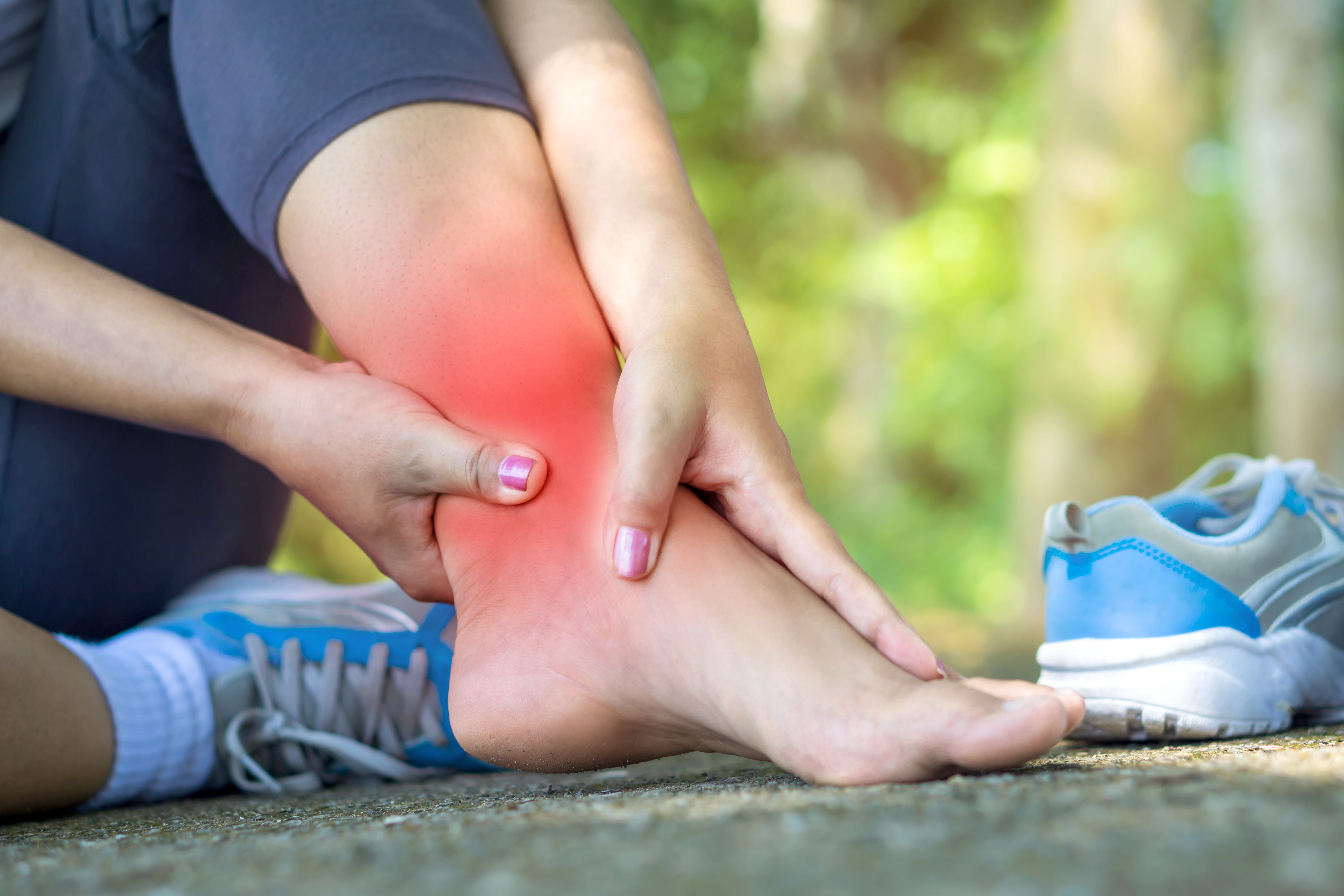 Broken ankle sprained ankle sprain ankle sprain recovery