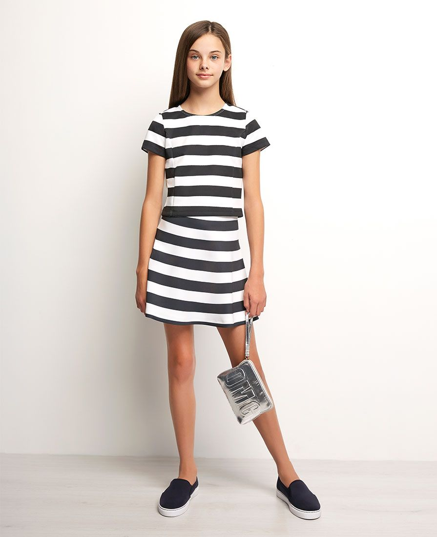 9fda1cd0954 Girl s Nautical Top - Bardot Junior