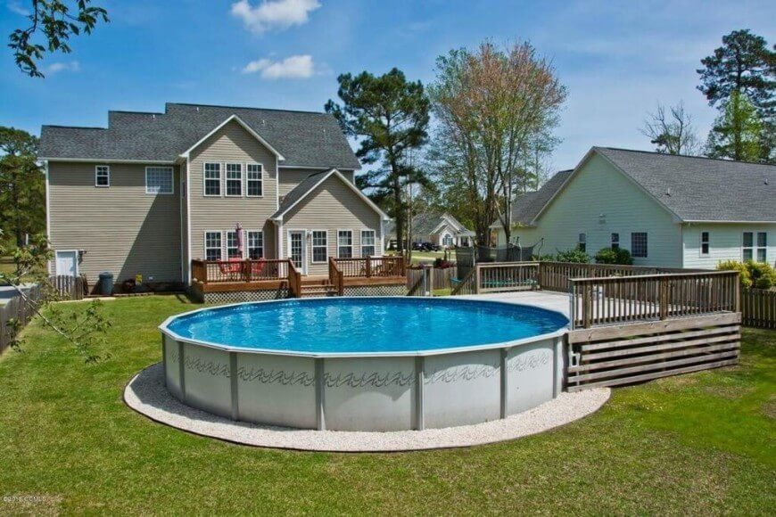 Amazing 14 Great Above Ground Swimming Pool Ideas