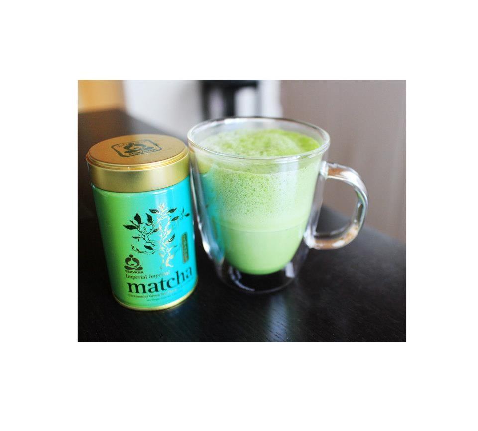 Matcha Tea Latte With Coconut Milk Recipe Here : Http