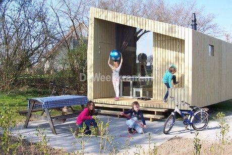 Slaapkamer Woonboerderij Coby : Overnachten in de trek in op camping vreehorst is kamperen met