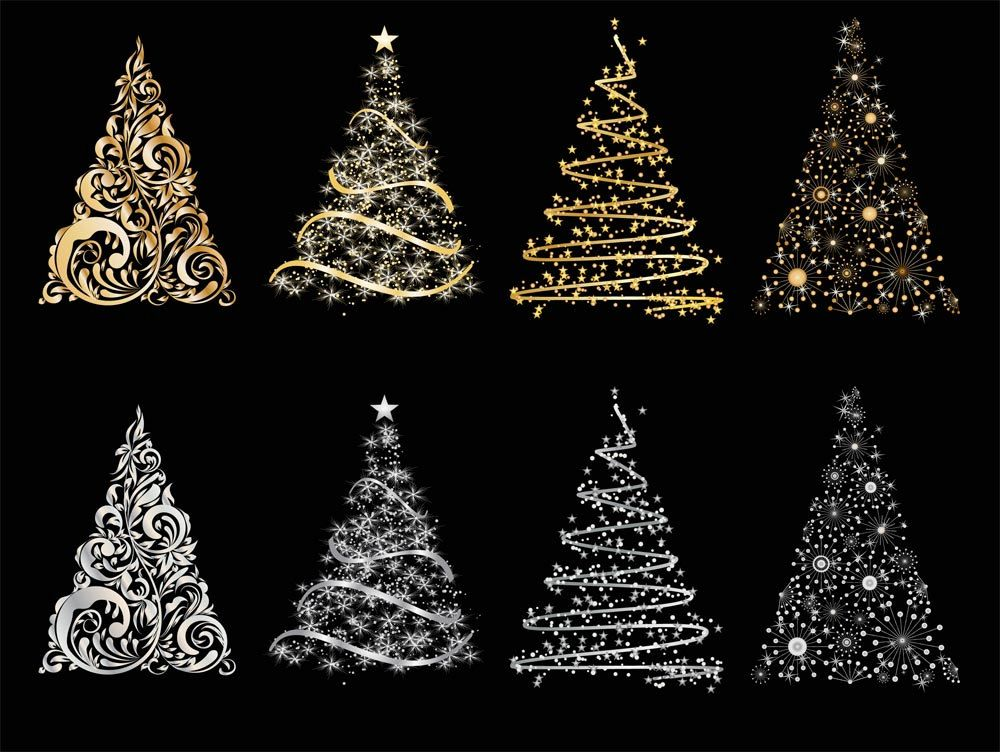 christmas tree clip art - Google Search | Bottle and glass ...