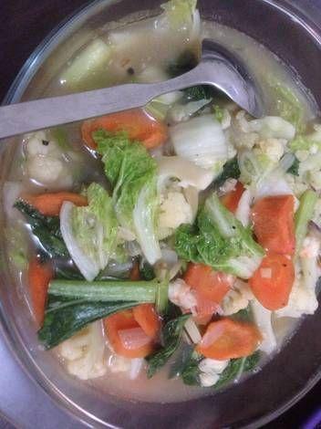 Resep Cap Cay Sayur Nyemek Oleh Ayunovita Resep Makanan Pedas Resep Makanan Sehat Resep Masakan