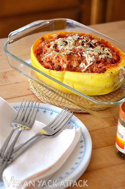Spaghetti Squash Pizza Bake.