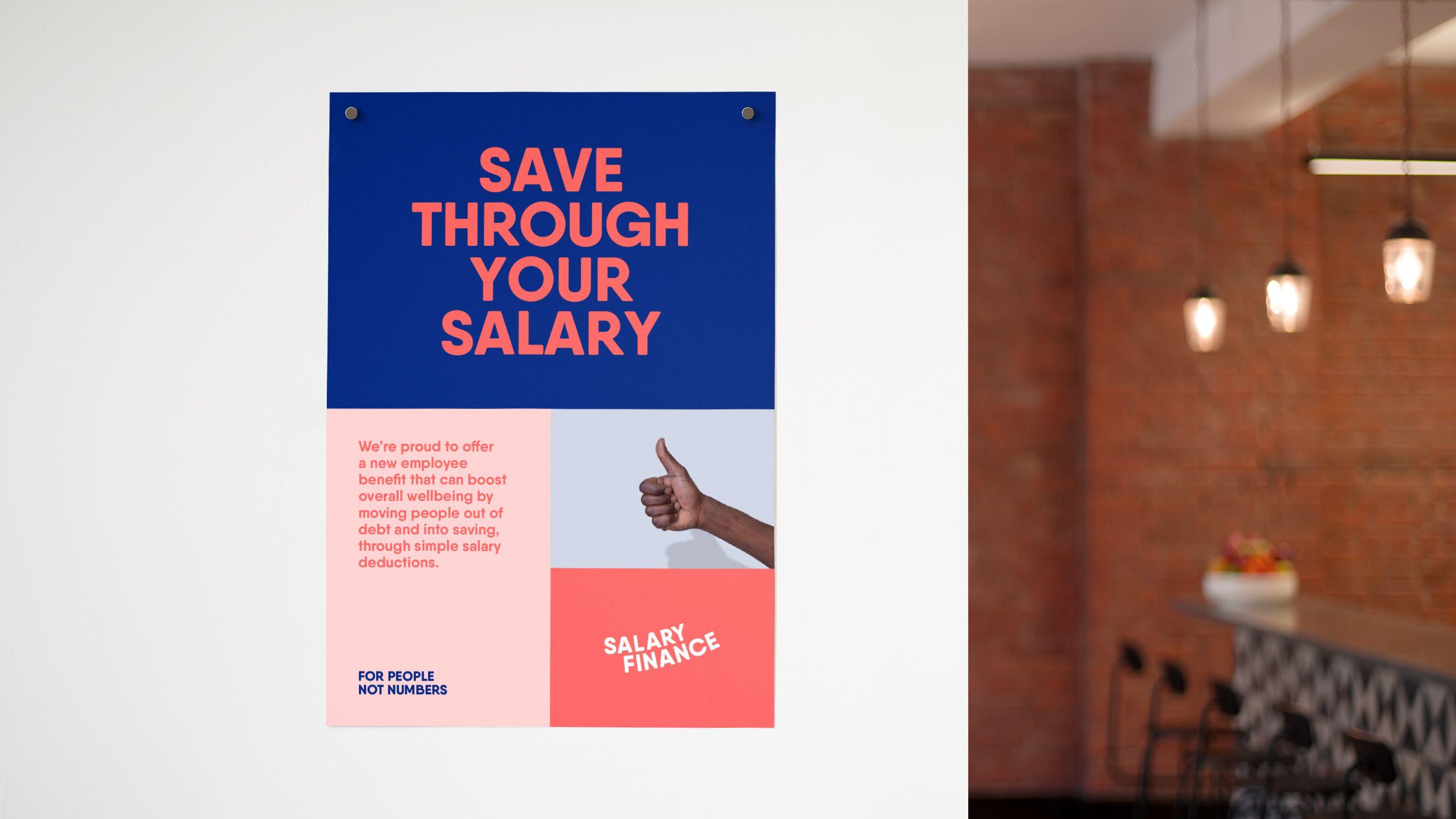 Salary Finance Branding a fintech startup Finance