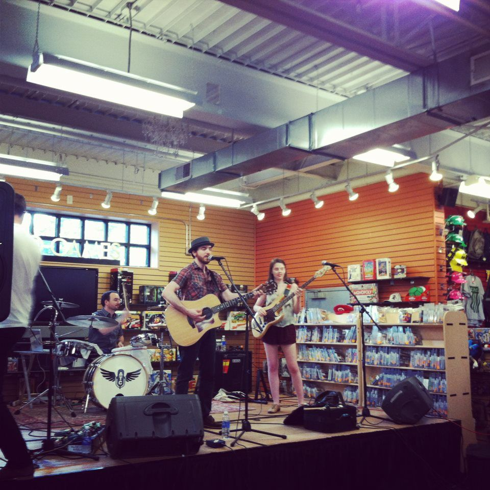 Air Traffic Controller Performing Live at the Norwood MA