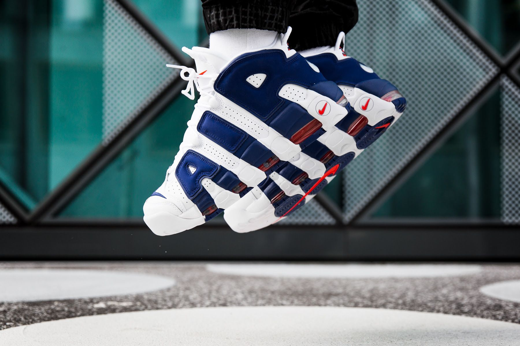 hot sale online 6103e 4605c On-Foot  Nike Air More Uptempo  Knicks  - EU Kicks  Sneaker Magazine