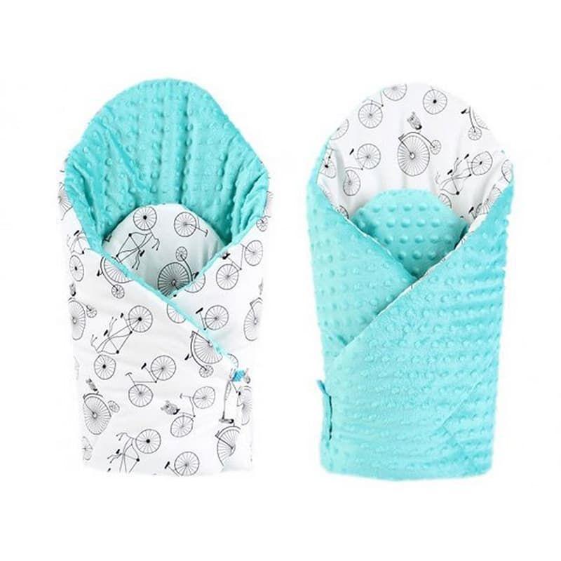 31484aeb5871 Модный конверт одеяло двубортное для мальчика Велосипед серый в подарок  малышу на выписку. Выполнен из американского 100% гипоаллергенного хлопка,  ...
