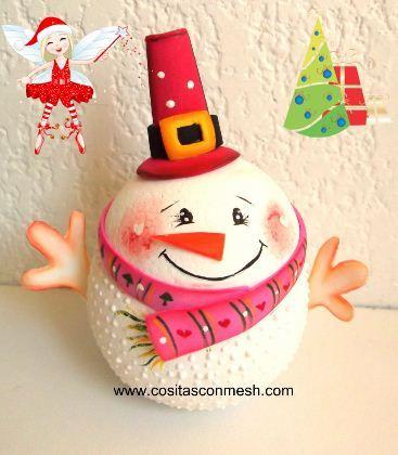 C mo hacer adorno navide o casero adornos navide os - Hacer videos navidenos ...