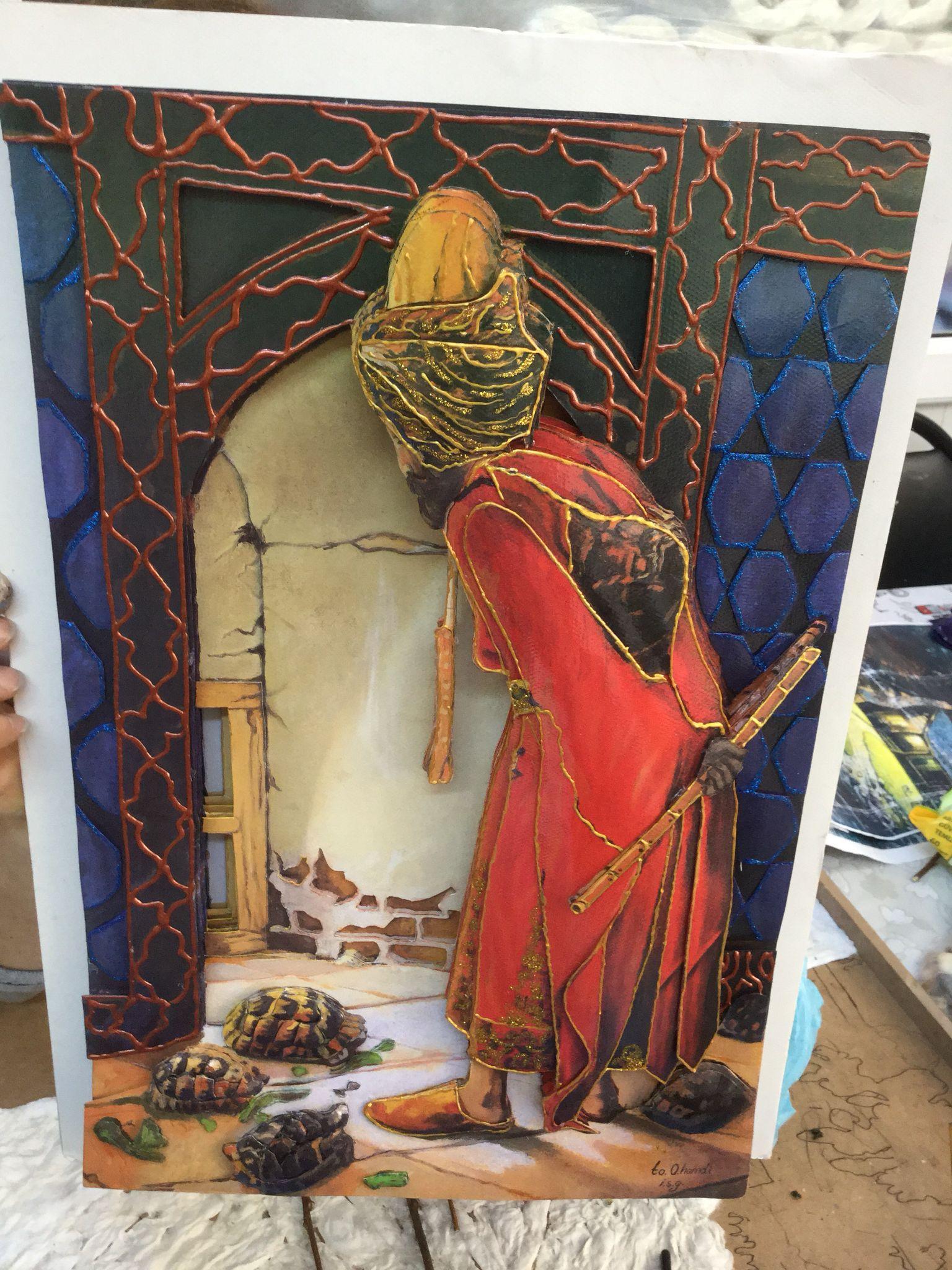 Osman Hamdi Kaplumbaga Terbiyecisi Kavramsal Sanat Tablolar Sanat