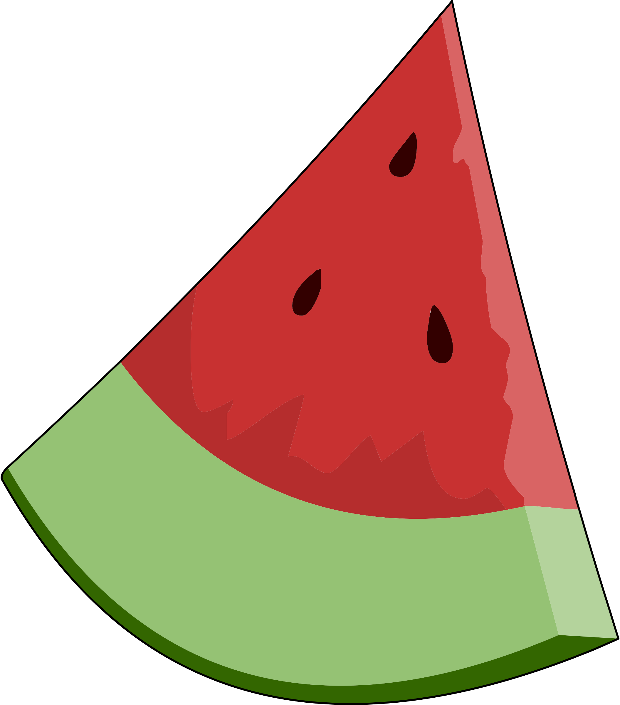 Download And Share Clipart About Clip Art Of A Watermelon Clipart Cliparts For You Clipartcow Food Clipart With Transparent Background Find More High Quality