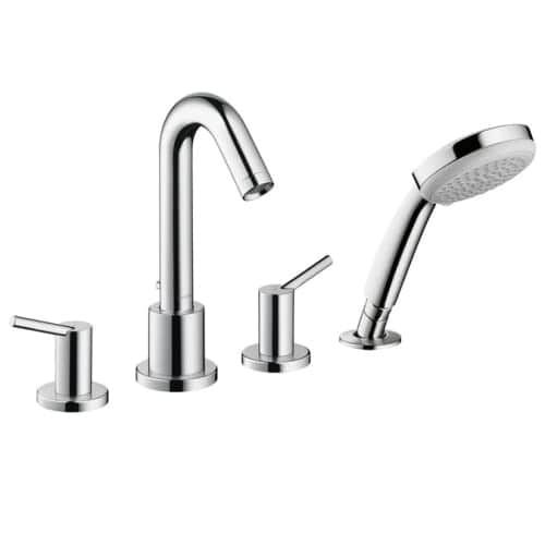 Hansgrohe 32314 Talis S Deck Mounted Roman Tub Faucet Trim With Built In  Diverter