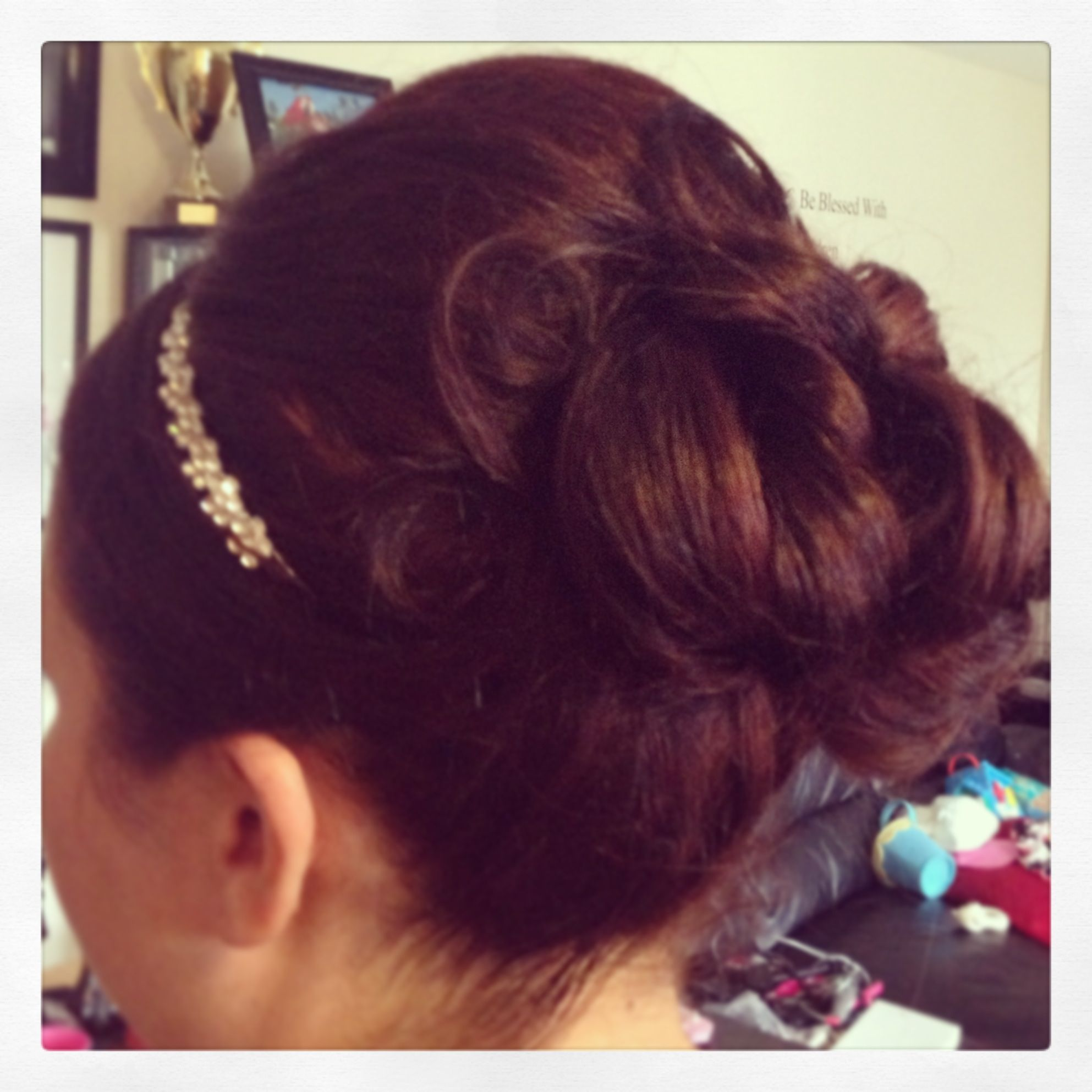 Bridal updo hair styles pinterest bridal updo updo and formal