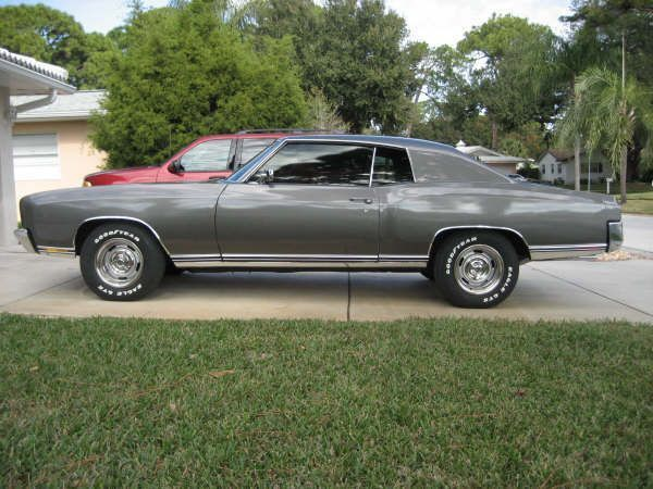 My 1970 Chevy MonteCarlo (first Year Of