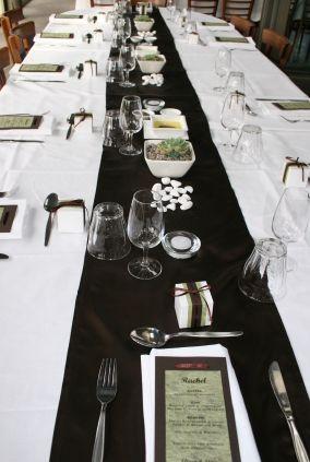 Black White Wedding Color Scheme Table Decor Wedding