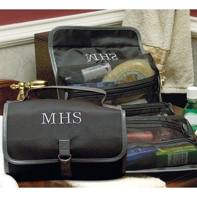 Personalized Men's Micro Fiber Toiletry Bag Concepts Group. $35.64