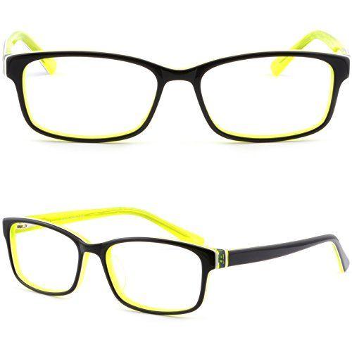 Full Rim Rctangular Plastic Mens Womens Frame Prescription Glasses Spring Hinge Black LuGao http://www.amazon.com/dp/B01D8HW6XK/ref=cm_sw_r_pi_dp_m5d8wb14SBR3D