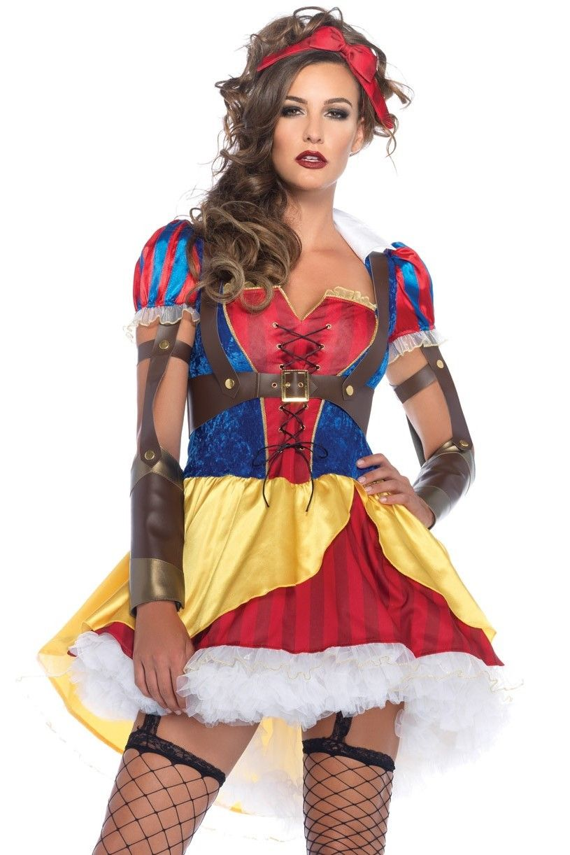 Shop fairytale costumes like this Rebel Snow White Costume at ...