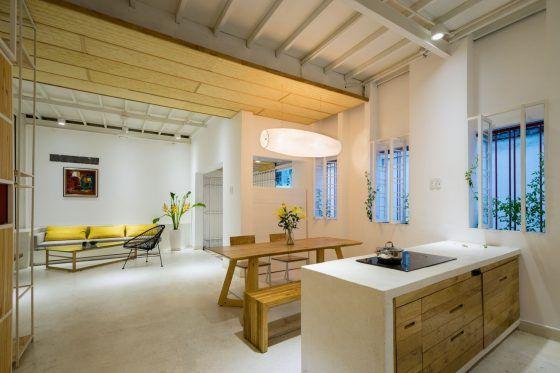 Casa económica moderna de 50 metros cuadrados | Kitchens | Sala ...
