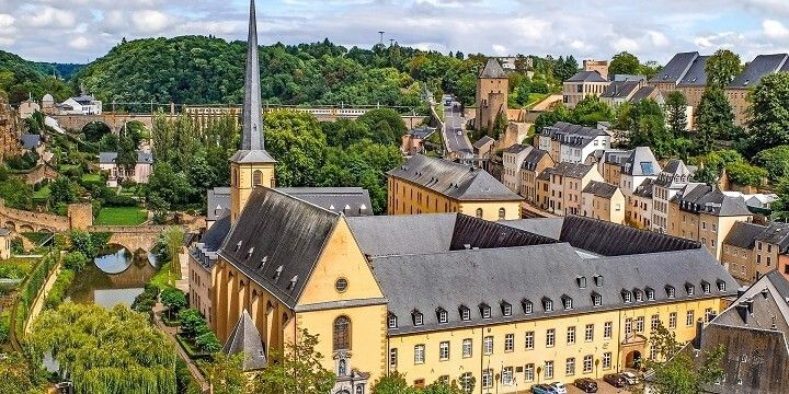 Old Town, Luxembourg City, Europe