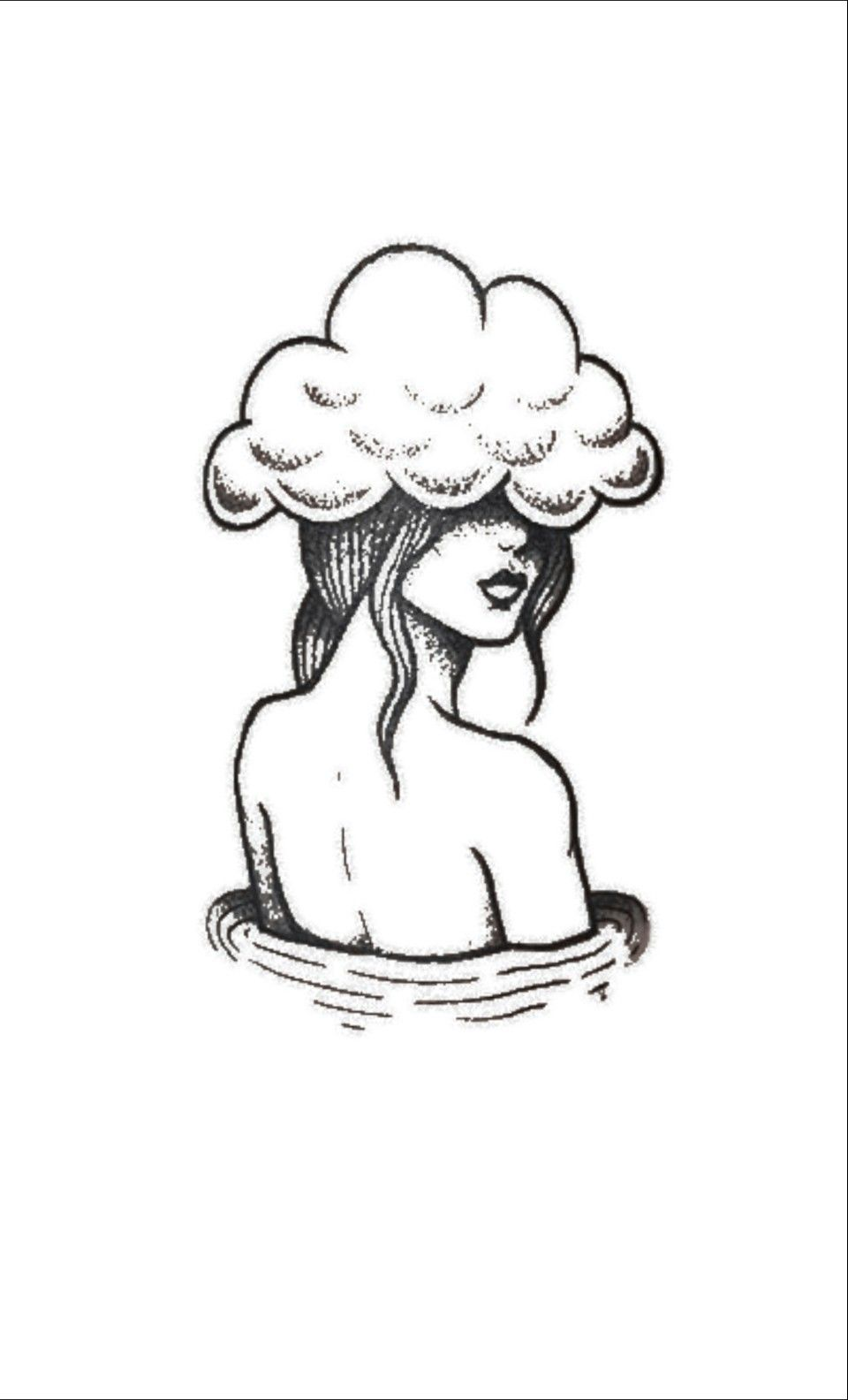 Fill cloud with thoughts? Moods? Quotes? Brain Dumps?